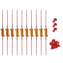 10×50 Вт 6R нагрузочного резистора исправить ошибки сигнальные лампы тормоза Hyper вспышки Blink мигалка ошибка для авто автомобиль светодиодные лампы Горячий Новый