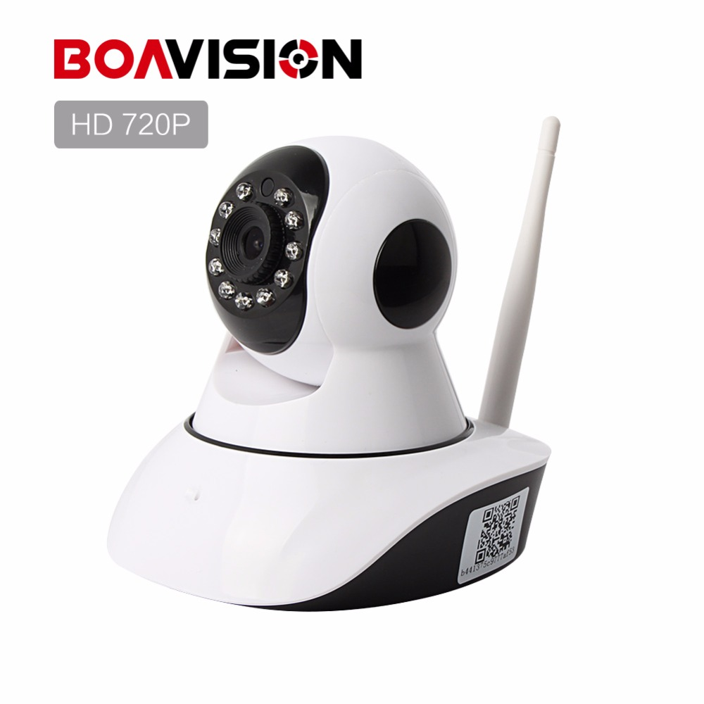 1.0MP Wireless IP Camera WIFI Night Vision HD 720P Smart Camera Two Way Audio Home CCTV Surveillance Camera View XMEye BOAVISION