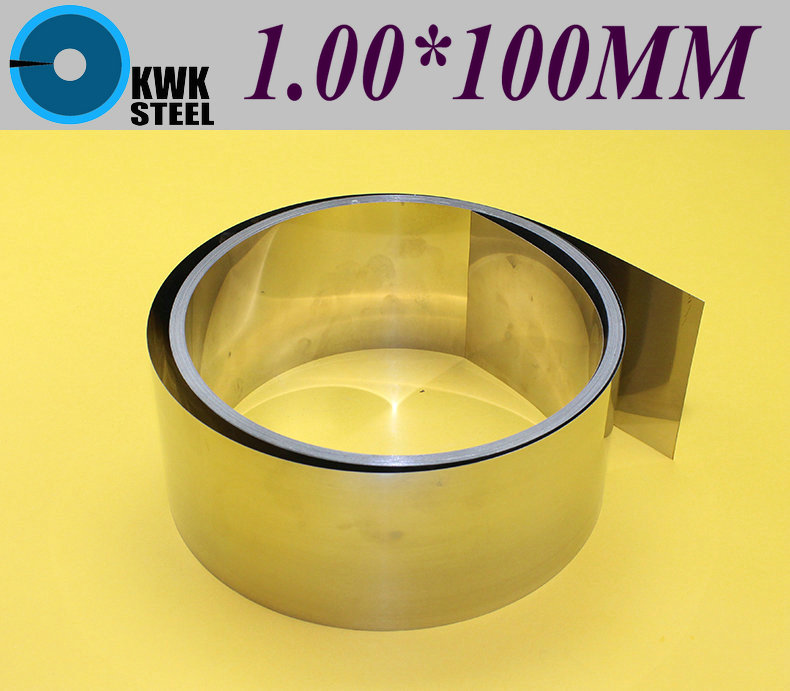 Stainless SUS304 Steel Strips 1*100*1000mm In Coil For Molds Distance Washer High Precision Parts Coiled Silicon Steel Sheet