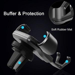 Image 4 - Soporte Universal de teléfono para coche soporte de ventilación de aire para teléfono móvil iPhone 11 6 6s Plus Gravity Smartphone