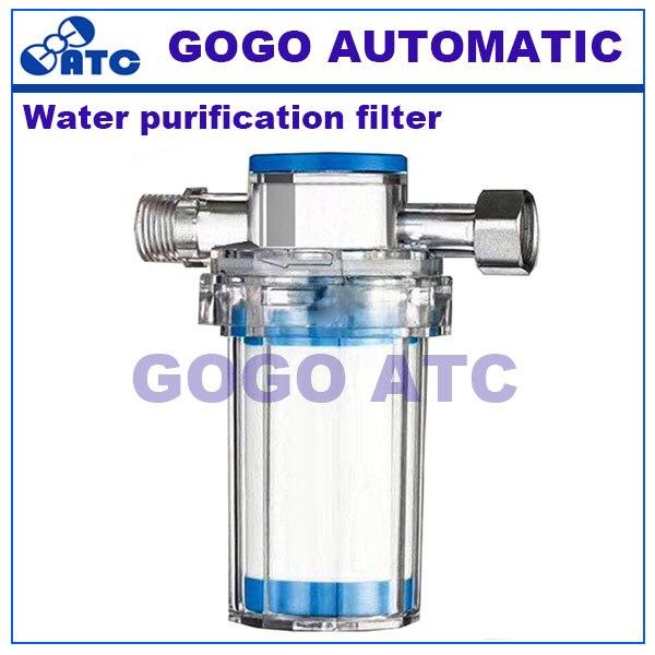 PVC água da torneira casa filtro de purificação de Água Ambientalmente amigável Frente a impureza ferrugem sedimentos filtro De tubulação de Água