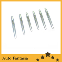 Chrome Hood Vent Trim Fin Covers for Mercedes Benz R172 SLK Class Free Shipping