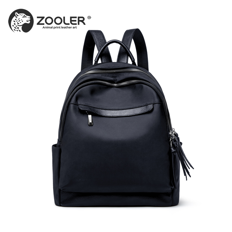 2019 new fashion ZOOLER brand bag Oxford leather backpack women backpacks quality Woman luxury bags lady
