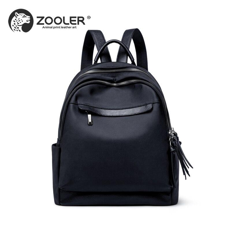 2019 nouveau mode ZOOLER marque sac Oxford en cuir sac à dos femmes sacs à dos qualité femme luxe sacs dame voyage fourre-tout # wp218