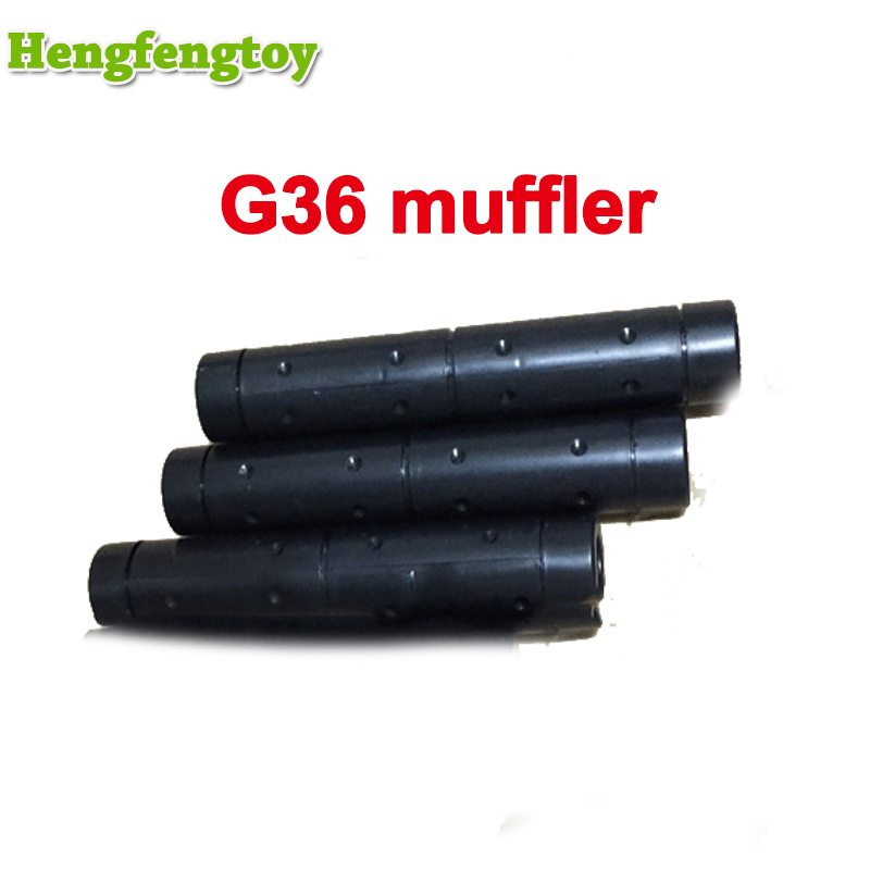 Free Shipping New Sentai G36 Muffler Accessories Manufacturer Of Electric Water Gun Fine Accessories Intelligence Assembled MI23