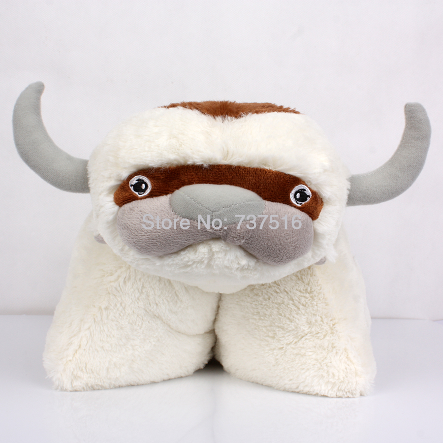 The Last Airbender 20 Appa Avatar Stuffed Animals Plush Pillow Doll Toy Kids Christmas or Halloween Gift New the last airbender resource appa avatar stuffed plush doll toy x mas gift 50cm