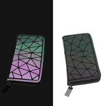 Women Long Wallet Geometric Luminous BaoBao Female Min Clutch Bags Bao Multifunction Purse Card Holder