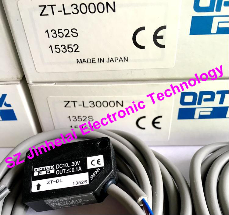 New and original ZT-L3000N OPTEX   Laser sensor, Photoelectric switch new and original zr 350n optex photoelectric switch photoelectric sensor