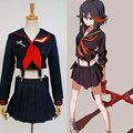 KILL la KILL Ryuko Matoi japanese Anime Party Halloween Cosplay costumes For Women Girls Dress Custom Made Free Shipping