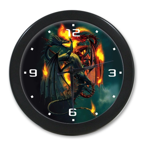 New Arrival Fashion Elegant Wall Decor Clocks Western Dragon Clock For Bedroom 9 65 Inch Free Shipping In From Home Garden On