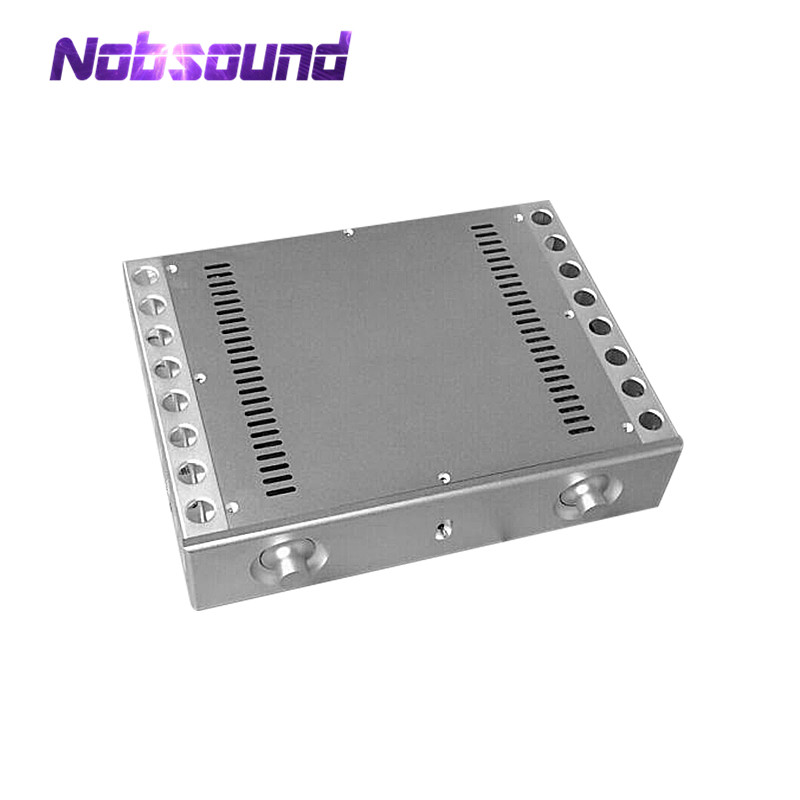 Aluminum CNC Chassis Heatsink Amplifier Enclosure DIY Audio Case Cabinet Box все цены