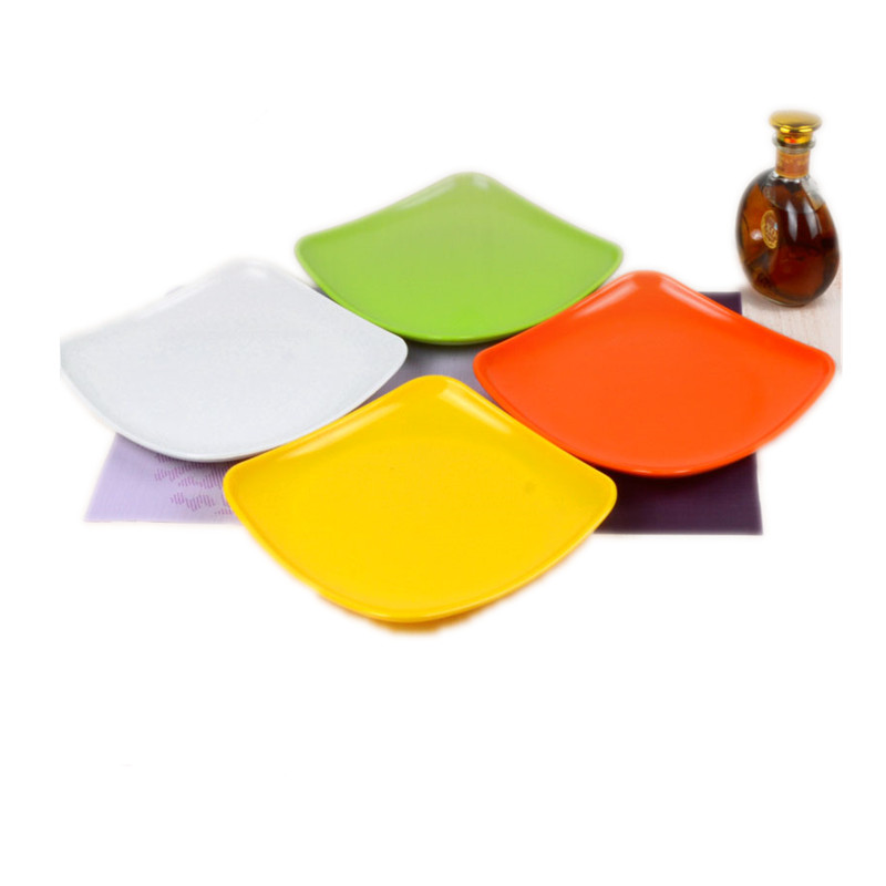 Melamine Tableware Melamine Plate Color Plates Thicker Plastic Plate Colorful Square Plate-in Dishes u0026 Plates from Home u0026 Garden on Aliexpress.com | Alibaba ...  sc 1 st  AliExpress.com & Melamine Tableware Melamine Plate Color Plates Thicker Plastic Plate ...