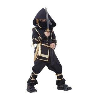 Image 5 - Kids Ninja Costumes Halloween Party Boys Girls Warrior Stealth Children Cosplay Assassin Costume