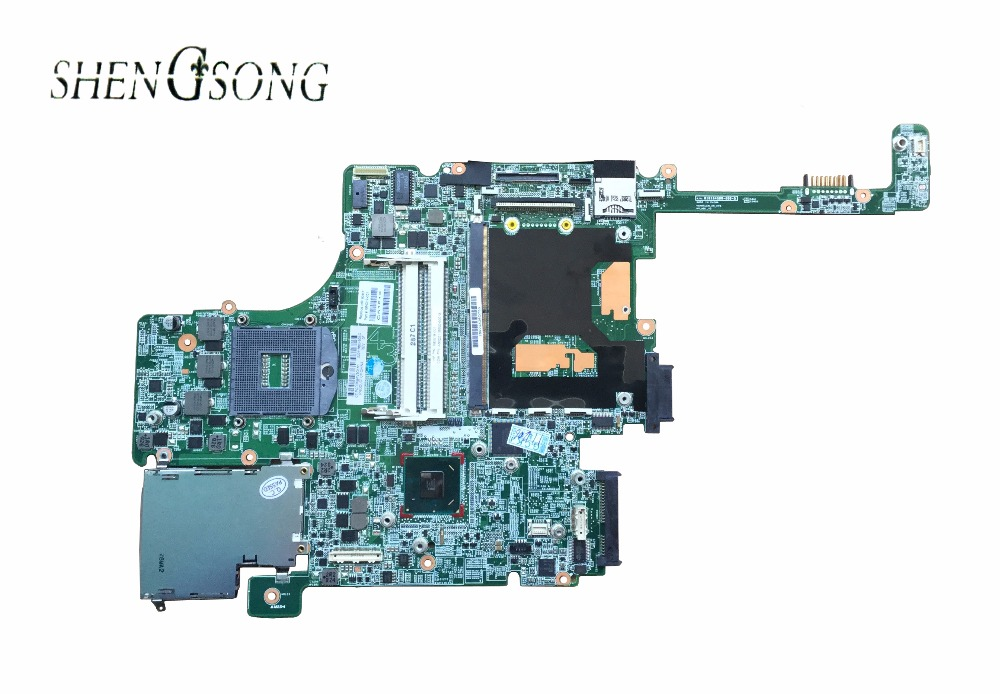 684319-001 684319-501 motherboard for hp elitebook 8560W Notebook PC System board QM67 with graphics slot 100% tested free shipping for hp 8560w motherboard 652638 001 intel qm67 ddr3 green model 100