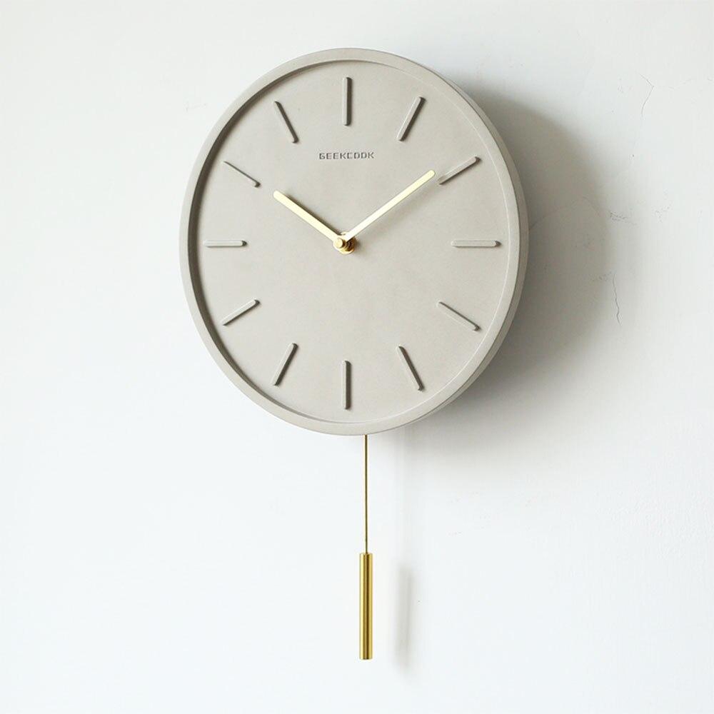 Nordique Creative pendule horloge silencieux Quartz montre mécanisme Pow patrouille horloges salon décoration horloge Relogio Parede 5ZB94 - 4