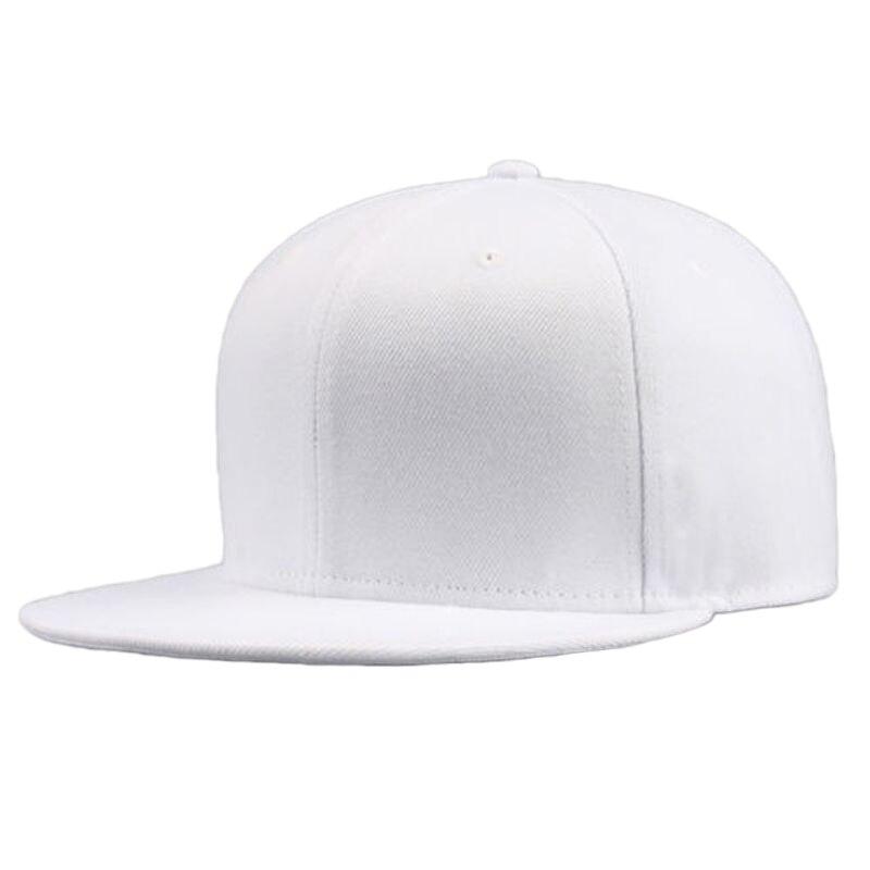 Snapback-Hats Baseball-Cap Solid-Hat Adjustable Black Unisex Fashion Women Casual Hip-Hop