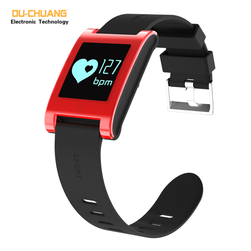 цена Men Women Sport Digital Smartwatch Heart rate Sleep Monitor Fashion Smart Watches Steps Distance Calories Monitor Casual watch