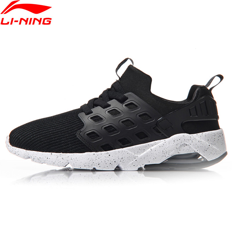 Li-Ning Bubble Ace Women Walking Shoes Mono Yarn Cushion Sneakers Wearable Mesh Breathable LiNing Sports Shoes AGLM022 YXB066