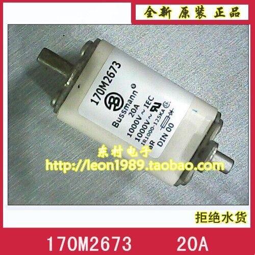 US imports 170M2673 20A 1000V 170M2674 BUSSMANN fuse fuse