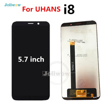 Good Quality i 8 lcd For UHANS i8 LCD Display with Touch Screen Digitizer Repair Parts screen Glass 1440*720 aa084sa01 lcd screen 100% test good quality new