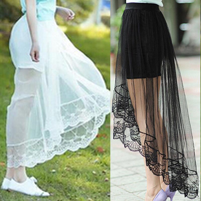 Sexy Vintage Women Summer High Waist Flared Pleated Swing Skirt