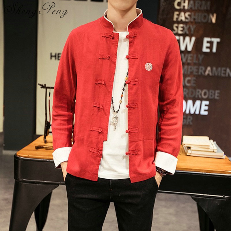 Traditional chinese clothing for men shanghai tang oriental clothing chinese jacket kung fu clothes male clothes CC242 Одежда