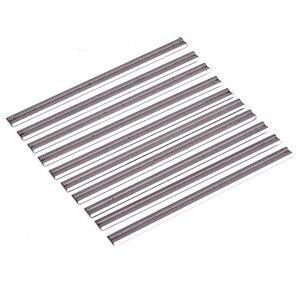 Image 2 - 10個可逆超硬プレーナーブレード82ミリメートル × 5.5ミリメートルを切断するためのソフトハード森プライ木板mayitr木工ツール