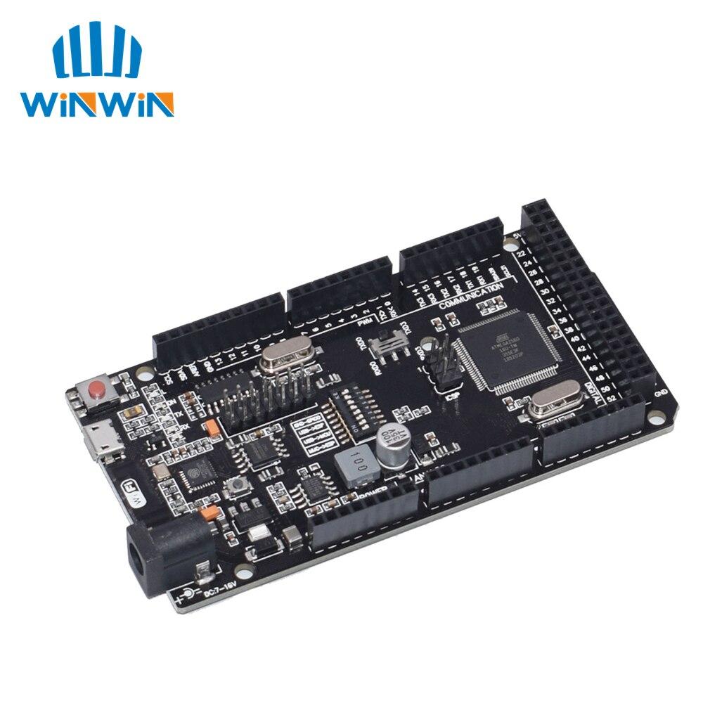 10 pièces WeMos Mega + WiFi R3 ATmega2560 + ESP8266 (32 mo de mémoire), USB-TTL CH340G. Compatible Mega, NodeMCU, WeMos ESP8266