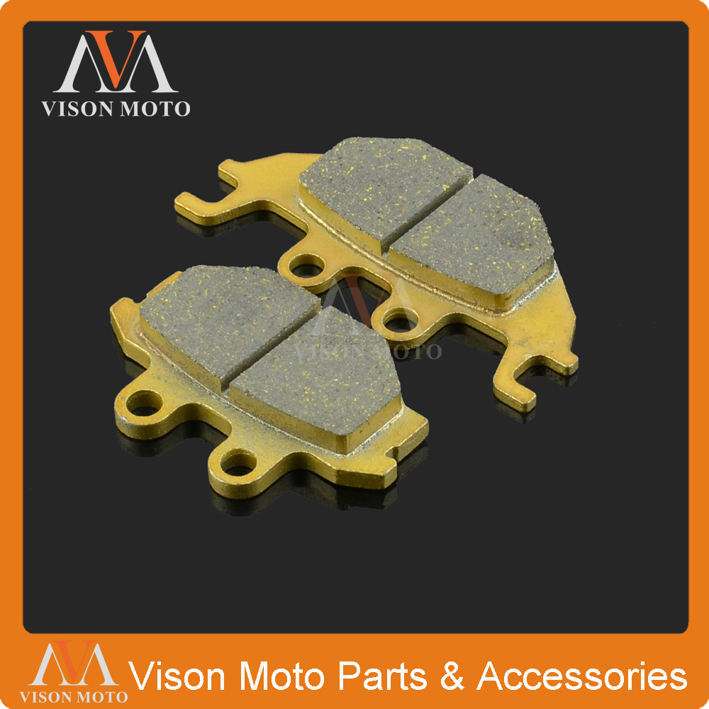 Motorcycle Front Caliper Brake Pads For ADLY CANYON 280 300 HURRICANE 280 300 320 CROSSROAD300 UTILITY300 300 RS XS S QUAD 500S ...