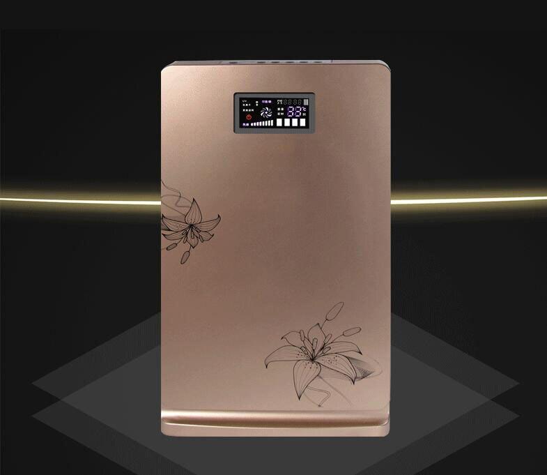 2 couleurs Air Purificateur Accueil Portable Concentrateur D'oxygène Ioniseur D'air De Nettoyage Air D'ozone