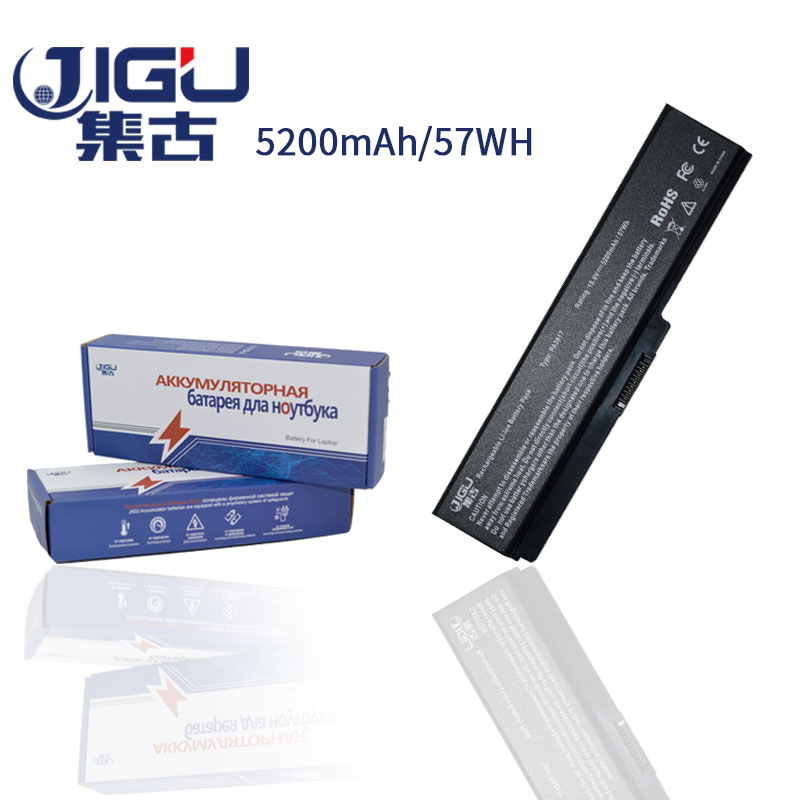JIGU Laptop Battery For Toshiba Satellite A660 C640 C650 C655 C660 L510 L630 L640 L650 U400 PA3817U-1BRS PA3816U-1BAS free shipping for toshiba satellite l640 l645 a000073390 notebook laptop motherboard 100
