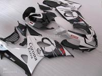 Black white Corona alstare FAIRING Kit For SUZUKI GSXR1000 GSX R 1000 2005 2006 Seat Cowl Free shipping + Windscreen