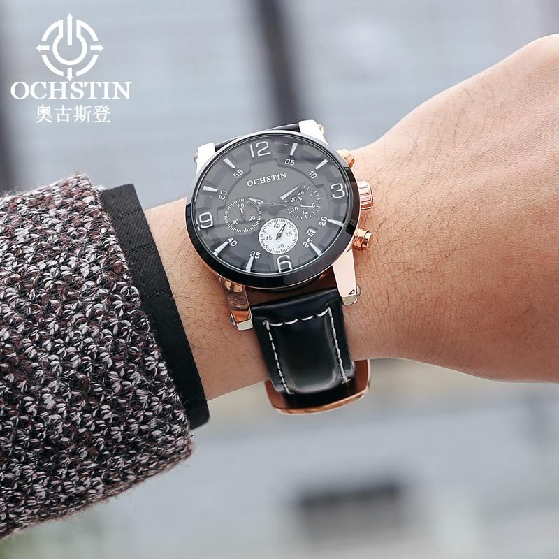 Լավագույն շքեղ ապրանքանիշ OCHSTIN - Տղամարդկանց ժամացույցներ - Լուսանկար 2