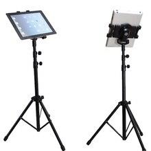 Arvin Treppiede di Rotazione Regolabile Tablet Del Supporto Del Basamento Per IPad Pro 7 11 Pollici Samsung Tablet Montaggio Stand Da Pavimento Con treppiede di Base