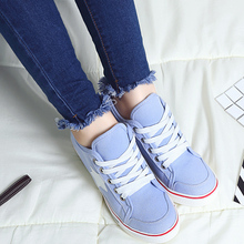 Woman Casual Shoes Comfortable Lace Up Platform Sneakers