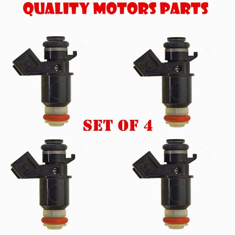 US $58 08 24% OFF|Lifetime Warranty 4PC OEM Fuel Injectors for Keihin fuel  injector for Honda Civic DX HX LX 1 7L D17A1 D17A6 16450PLC003-in Fuel