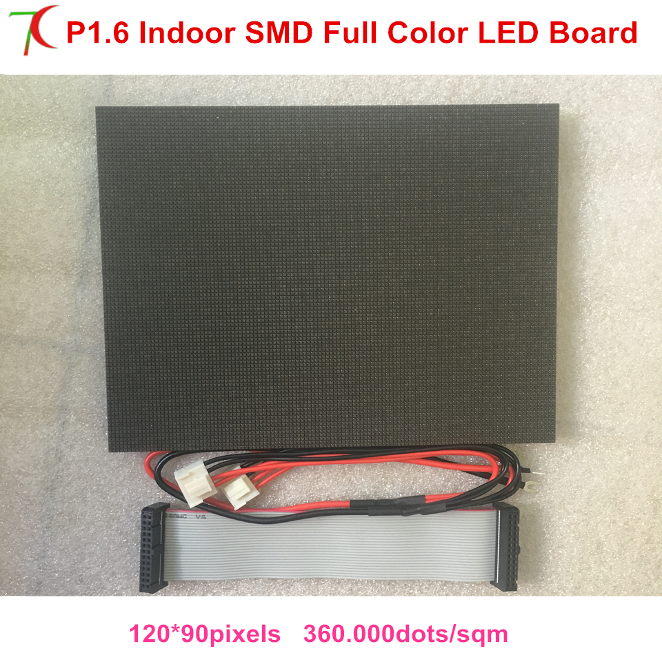 P1.6/p1.667 Ultra Smallest Pixels Full Color Led Module For High Defination Led Video Wall Led Screen Display