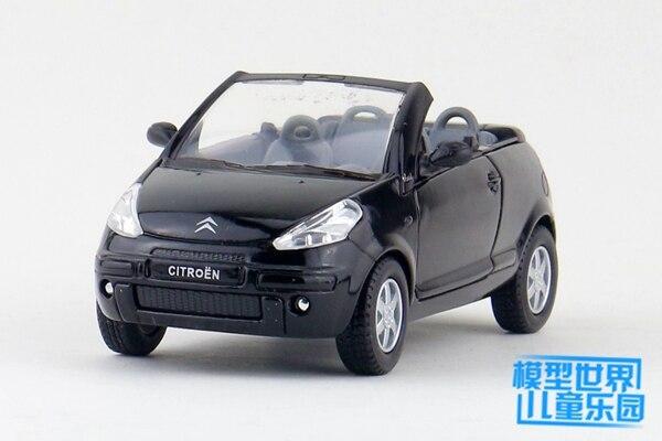 1 PC 12 5cm Kinsmart Model car toys 1 32 Citroen cars supercar children gifts