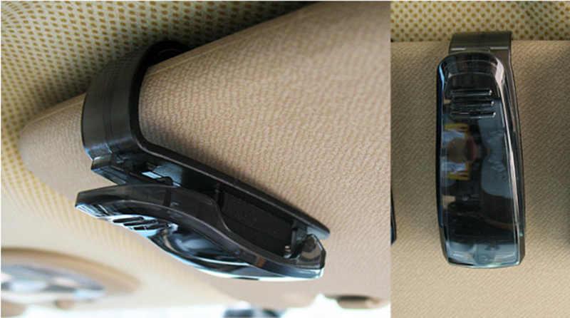 רכב סטיילינג רכב מגן שמש משקפיים כרטיס כרטיס בעל קליפ עבור קאיה ריו K2 K3 K4 K5 KX3 KX5 Cerato, נשמה, פורטה, Sportage R, סורנטו