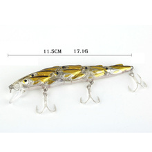 TUYA 5 Pcs/Set 11.5cm 17g fish faculty Minnow Synthetic Bait Exhausting Bait massive lure sea Fishing Salt Water Ocean Boat Fishing