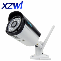 WIFI IP Camera 1080p 2mp Wireless Security Netcamera With Sd Card Slot Outdoor Waterproof Night Vision