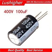 5 шт. 400V100UF 18*30 мм специальные внутренние подкладки для 100 мкФ 400V 18x30 мм Алюминий электролитический конденсатор с алюминиевой крышкой, DIP