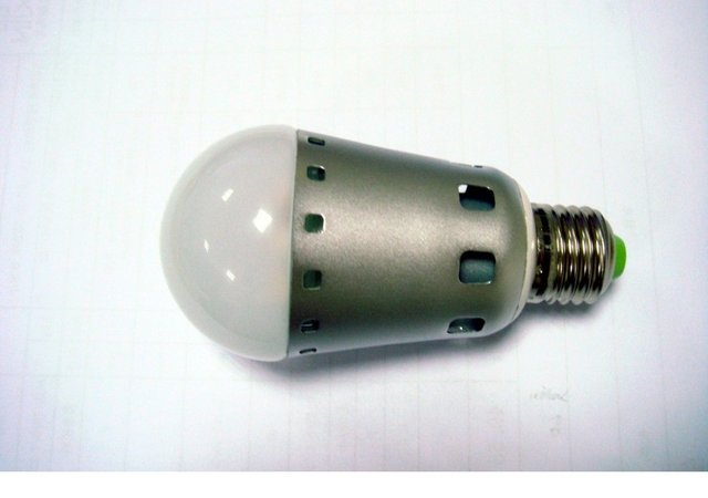 7*1W high power led bulb;E27 base;can replace traditoan 60W bulb,cool white;6000-6500K