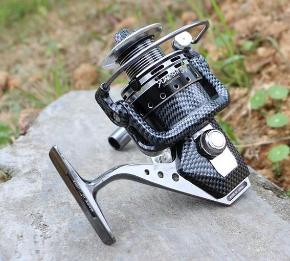 2016 Super Quality Seamless Metal Spinning Fishing Reel Carp Bass Sea Fishing Reel Fishing Tackle 12+1BB new super spinning fishing reel morph