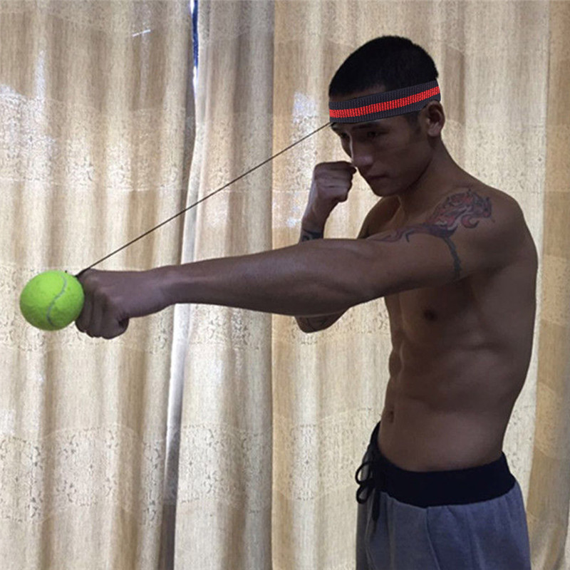 Fight Ball With Head Band For Reflex Speed Training Boxing Boxing Punch Exercise Safety & Survival Z0813