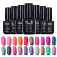 ROSALIND 7ml Gel Nail Polish Soak Off Matte Nail Polish Gel polish Manicure For Nails Gel UV Bling Color