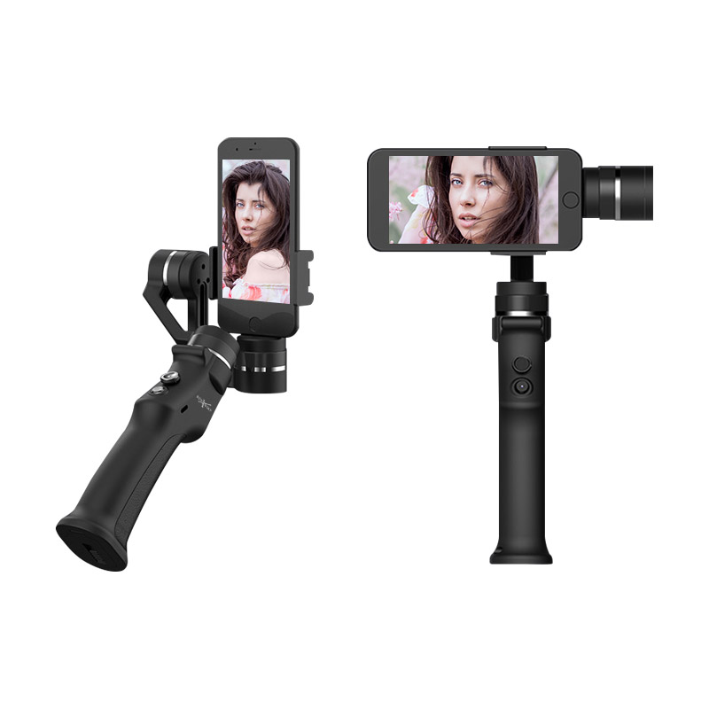 beyondsky eyemind smartphone handheld gimbal 3 axis stabilizer for iphone 8 x xiaomi samsung action camera vs zhiyun smooth q Beyondsky Eyemind Smartphone Handheld Gimbal 3-Axis Stabilizer for iPhone 8 X Xiaomi Samsung Smart Selfie Stick Action Camera