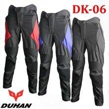 Мужчины духан DK006 похудела мотоцикл брюки, Женщины тонкие облегающие мото гонки брюки мотоцикл одежды рыцарь оксфорд цветов