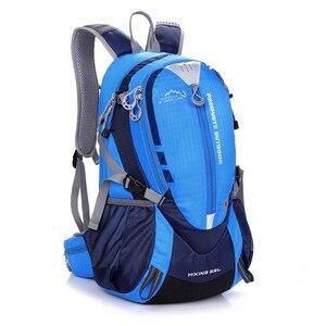 Image 1 - Водонепроницаемый нейлоновый рюкзак для верховой езды для мужчин и женщин, Спортивная уличная сумка для горных и дорожных велосипедов, ранец 25 л