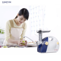 220V/300W Household electric meat grinder Sausage Stuffer Stainless Steel Meat cutter Machine